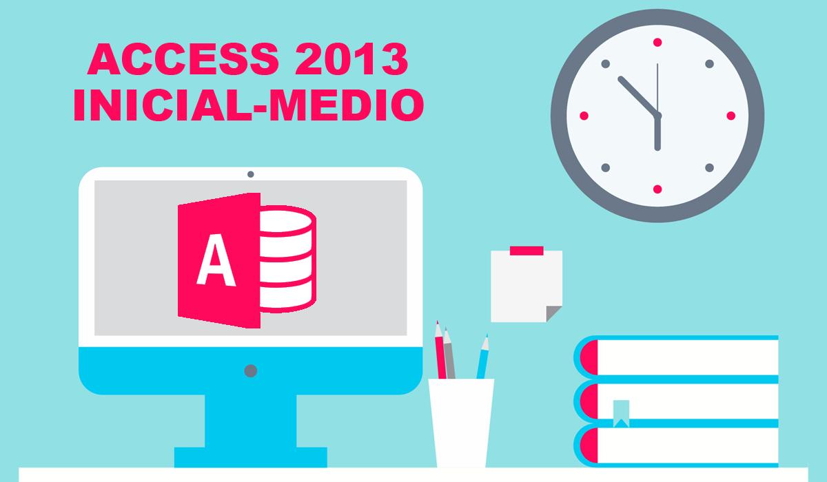 imagen del curso online: Curso Online Access 2013 inicial - medio