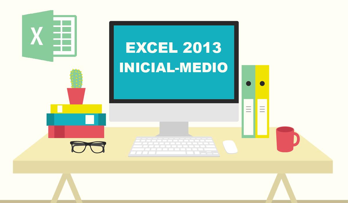 imagen del curso online: Curso Online Excel 2013 inicial - medio