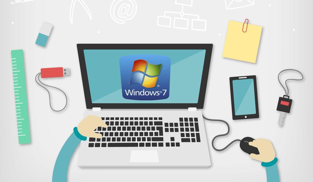 imagen del curso online: Curso Online El uso del ordenador y gestión de ficheros con Windows 7