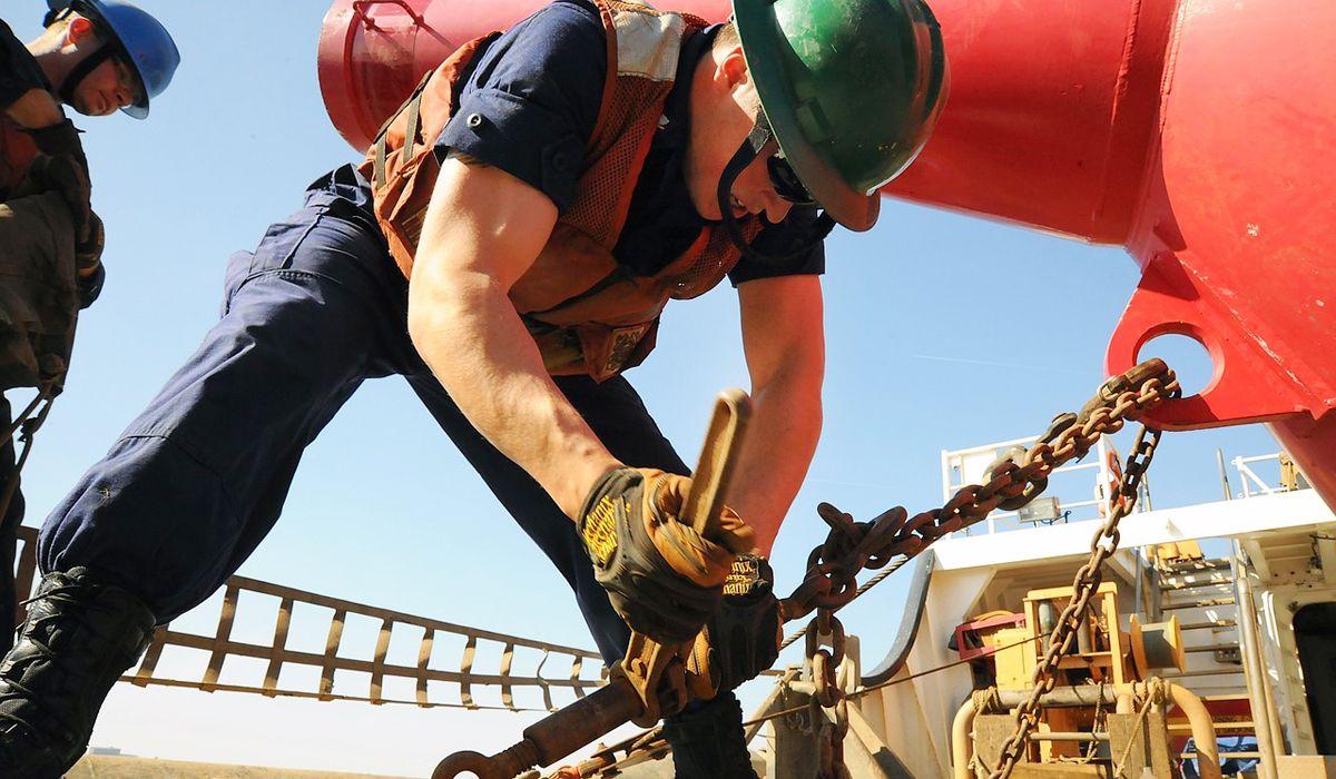 imagen del curso online: Curso Online Marinería embragado de cargas y comunicación gruista
