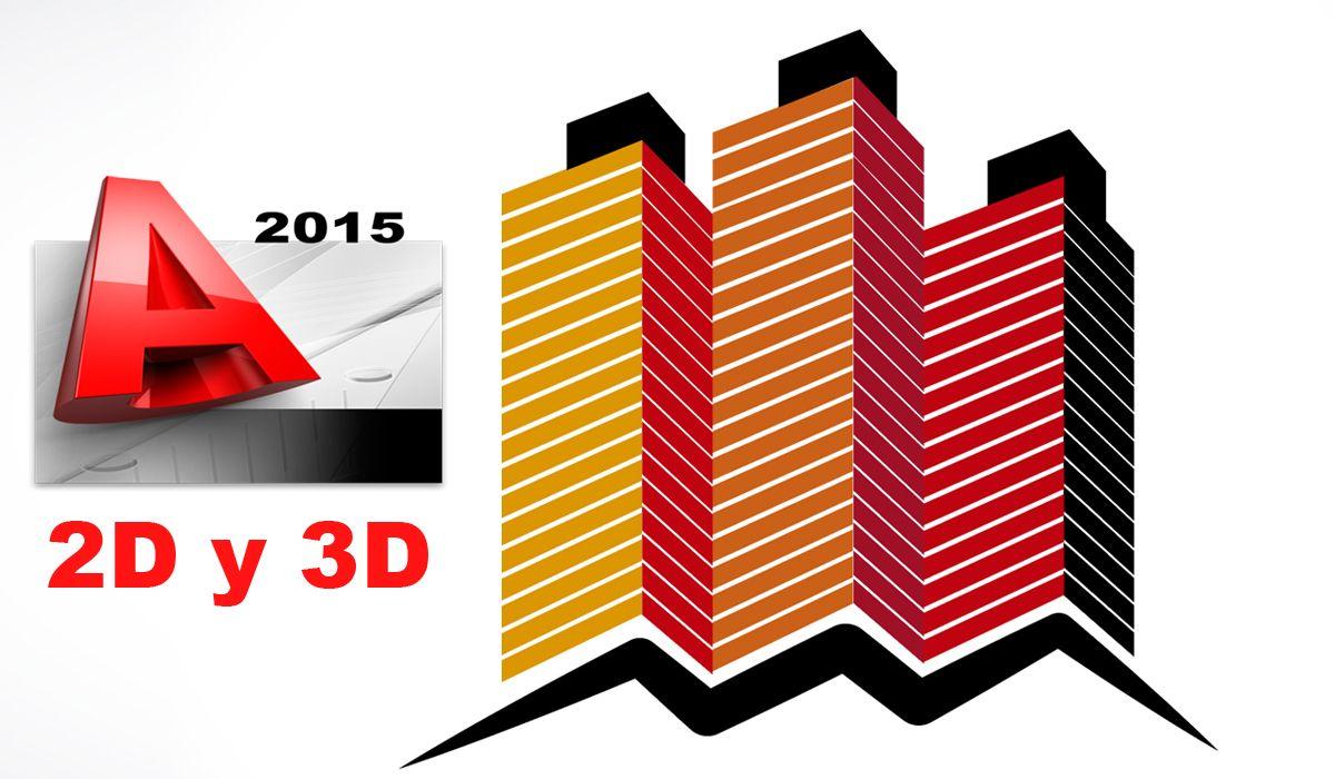 imagen del curso online: Curso online AutoCAD 2015 2D y 3D