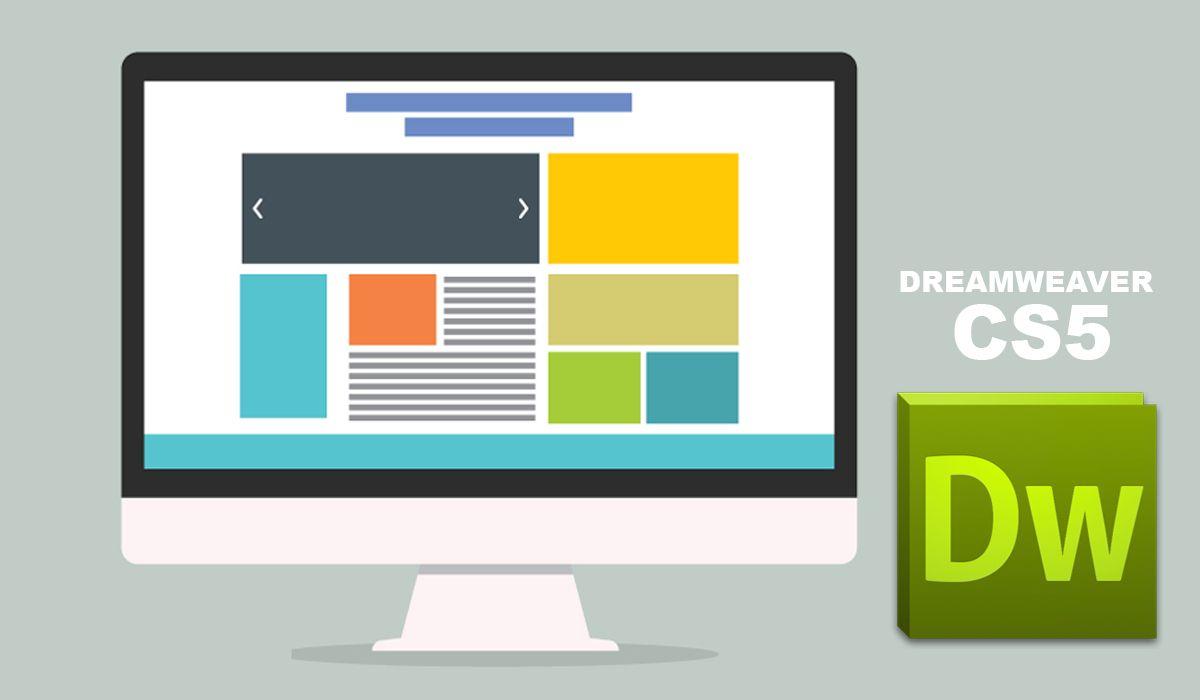 imagen del curso online: Curso Online Dreamweaver CS 5