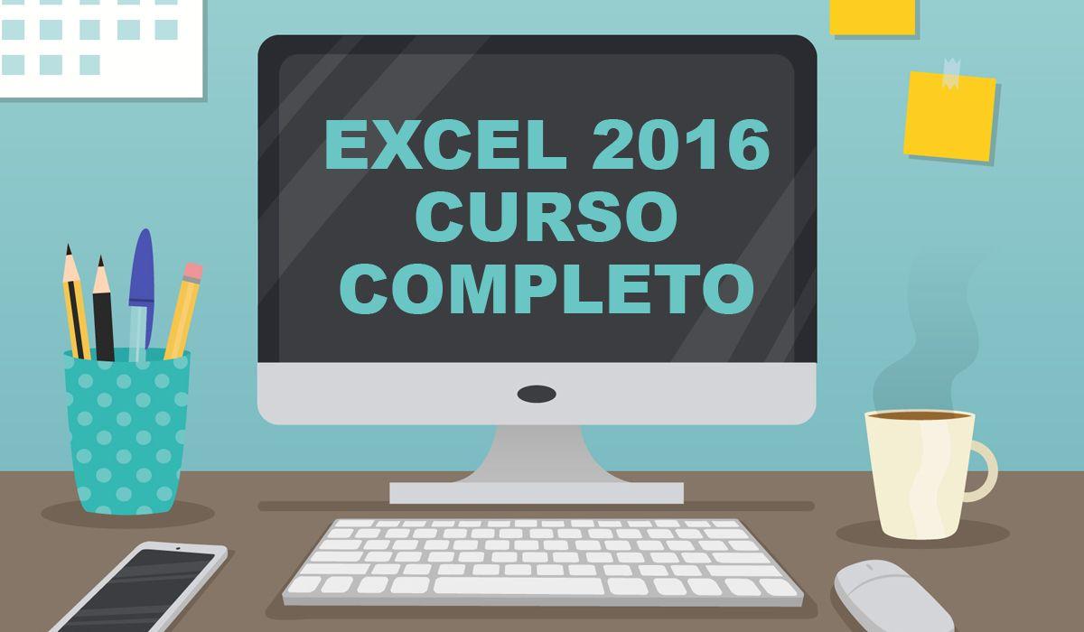 imagen del curso online: Curso online Excel 2016. Inicial+medio+avanzado