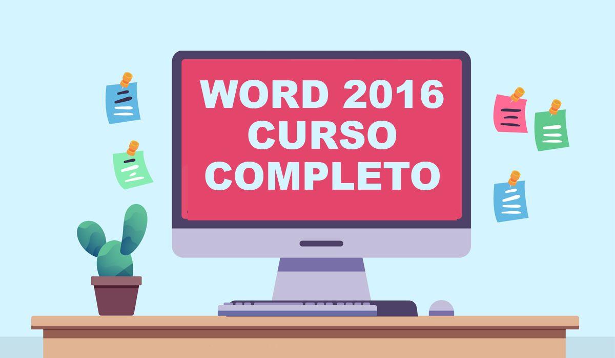 imagen del curso online: Curso online Word 2016. Inicial+medio+avanzado