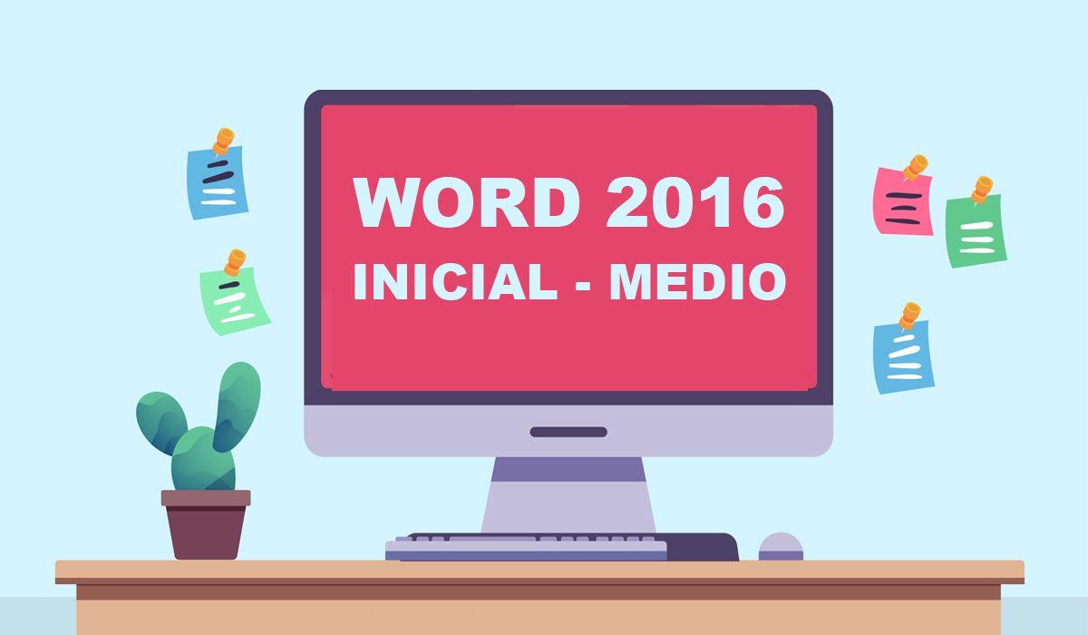 imagen del curso online: Curso online Word 2016 inicial-medio
