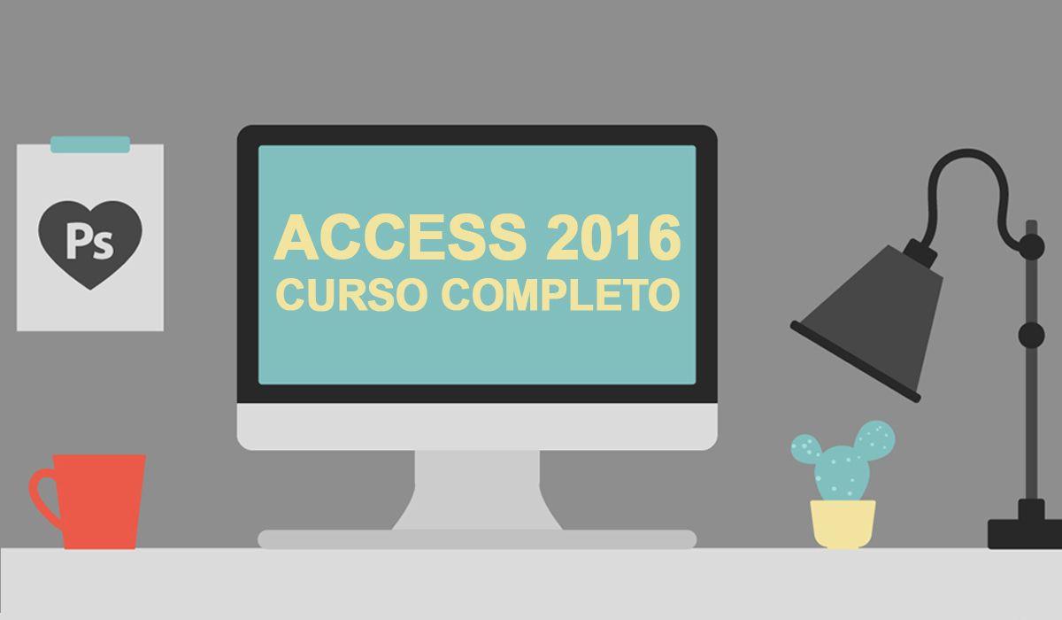 imagen del curso online: Curso Online Access 2016