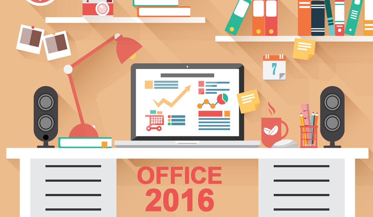 imagen del curso online: Pack Office 2016: Access + Excel + Outlook + Powerpoint + Word