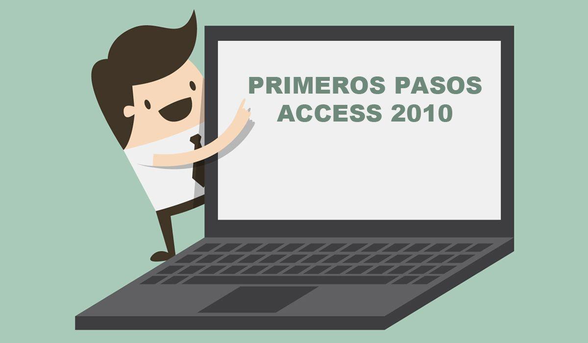 imagen del curso online: Curso primeros pasos con  Access 2010