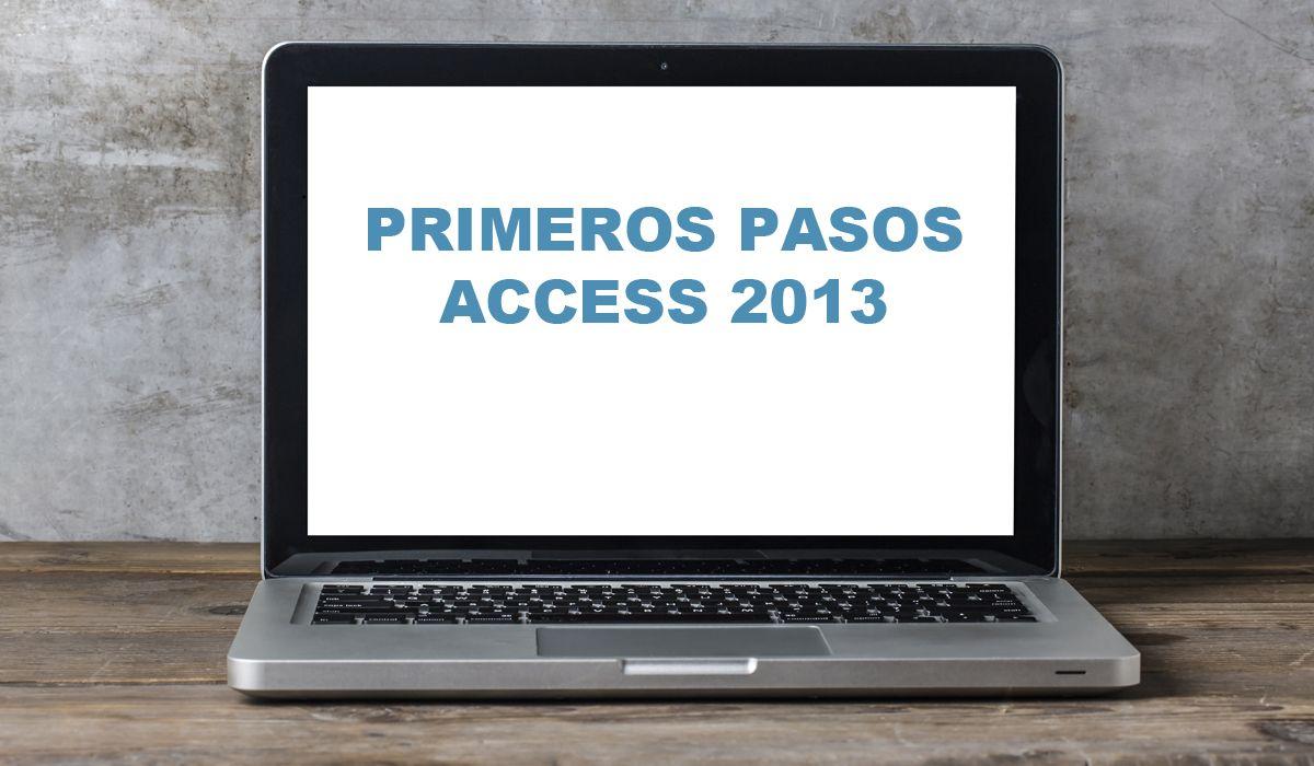 imagen del curso online: Curso primeros pasos con Access 2013