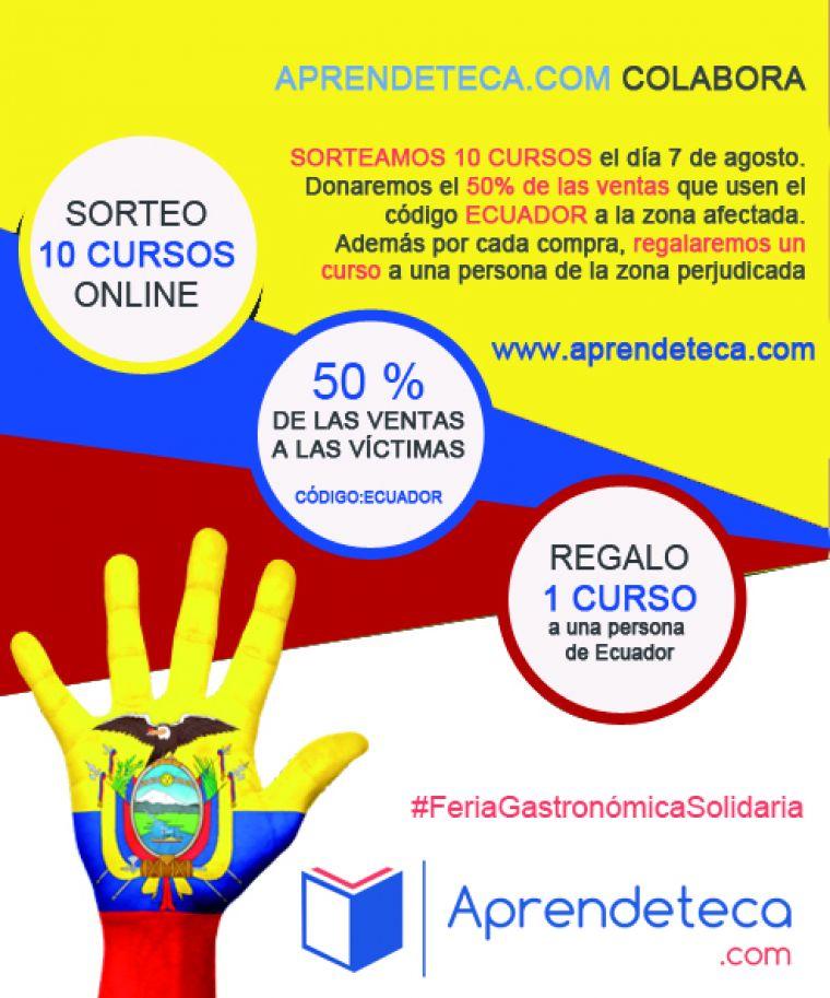 imagen de entrada del blog: Feria gastron�mica solidaria afectados terremoto de Ecuador